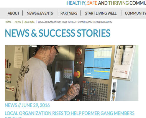 Rise Up Industries featured on Live Well San Diego