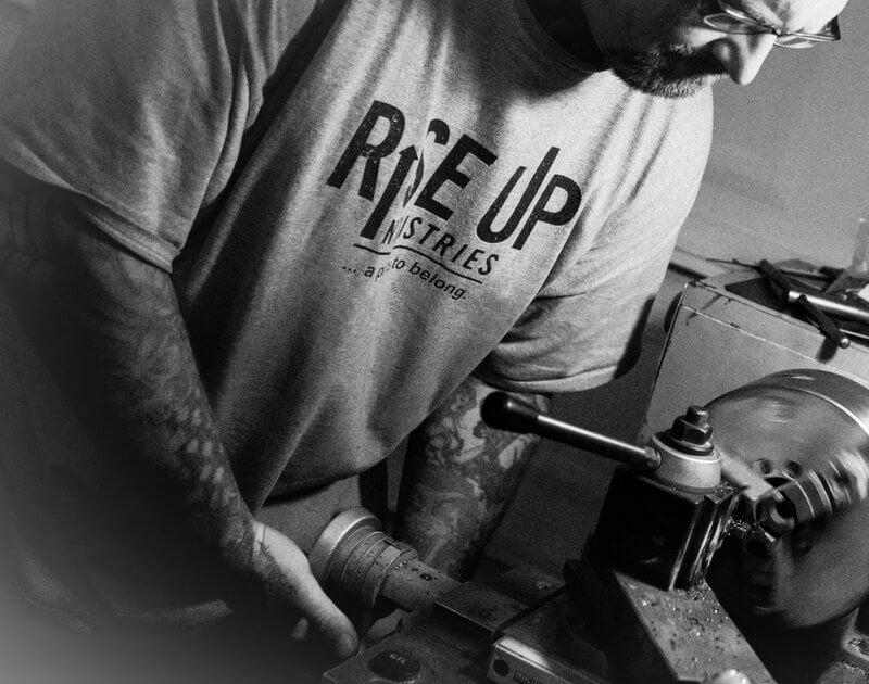 rise up industries machine shop